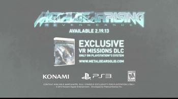 Konami and PlayStation TV Spot, 'Metal Gear Rising: Revengeance' - Thumbnail 10
