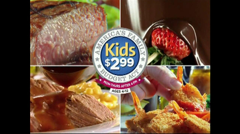 Golden Corral American Family Budget Act TV Spot - Thumbnail 10