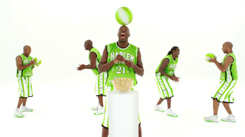 Wonderful Pistachios TV Spot Featuring The Harlem Globe Trotters