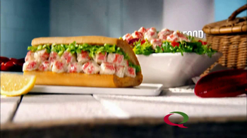 Quiznos Lobster Salad Sub TV Spot  - Thumbnail 6