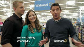 Walmart TV Spot 'Wesley and Ashley'