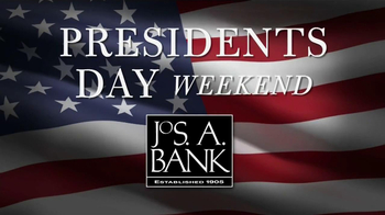 JoS. A. Bank Presidents' Day Weekend TV Spot, 'Suits' - 62 commercial airings