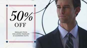 JoS. A. Bank Presidents' Day Weekend TV Spot, 'Suits' - Thumbnail 3