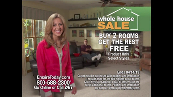 Empire Today Whole House Sale TV Spot, 'Feb. 2013'