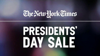 The New York Times Presidents' Day Sale TV Spot  - Thumbnail 2