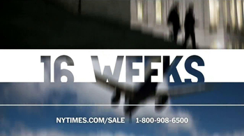 The New York Times Presidents' Day Sale TV Spot  - Thumbnail 3