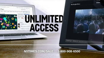 The New York Times Presidents' Day Sale TV Spot  - Thumbnail 4