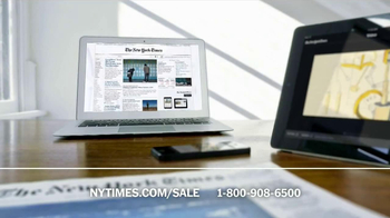 The New York Times Presidents' Day Sale TV Spot  - Thumbnail 5