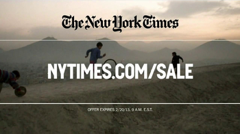 The New York Times Presidents' Day Sale TV Spot  - Thumbnail 8