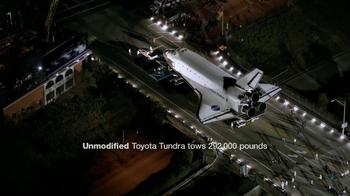 Toyota Tundra TV Spot, 'Space Shuttle Tow' - Thumbnail 10
