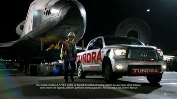Toyota Tundra TV Spot, 'Space Shuttle Tow' - Thumbnail 5