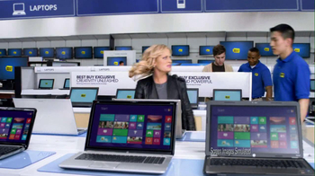 Best Buy 2013 Super Bowl TV Spot, 'Asking Amy' Featuring Amy Poehler - Thumbnail 7