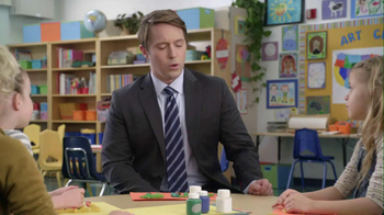 AT&T 2013 Super Bowl TV Spot, '2 Things at Once' Featuring Beck Bennett - Thumbnail 1