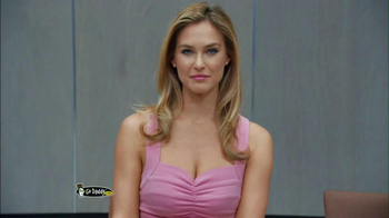 Go Daddy 2013 Super Bowl TV Spot, 'Big Kiss' Featuring Bar Refaeli - Thumbnail 2