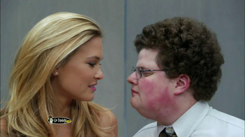 Go Daddy 2013 Super Bowl TV Spot, 'Big Kiss' Featuring Bar Refaeli