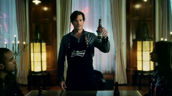 Budweiser Black Crown 2013 Super Bowl TV Spot, 'Party Walk-In' - Thumbnail 7