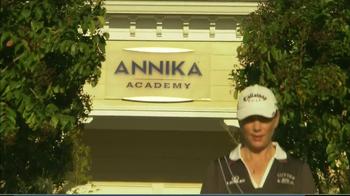 Annika Academy TV Spot Featuring Annika Sorenstam - Thumbnail 9