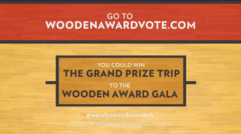 Wendy's TV Spot, 'Wooden Awards' Featuring Jay Bilas - Thumbnail 6