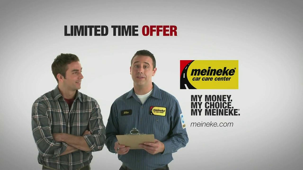 Meineke Oil Change >> Meineke Oil Changes Tv Commercial Video
