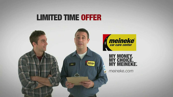 Meineke Oil Changes TV Spot