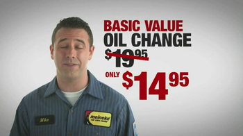 Meineke Oil Changes TV Spot - Thumbnail 3