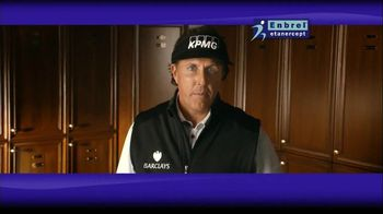 Enbrel TV Spot, 'Little Things' Featuring Phil Mickelson - 7261 commercial airings