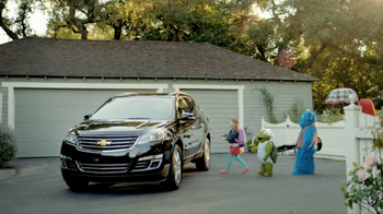 2014 Chevrolet Traverse TV Spot, 'Imaginary Friends' Song by Frenetic Sound - Thumbnail 4