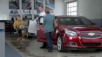 Chevrolet Oil Change TV Spot, 'Soccer Player'