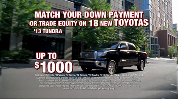 Toyota President Weekend Sales Event TV Spot  - Thumbnail 3