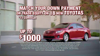 Toyota President Weekend Sales Event TV Spot  - Thumbnail 4