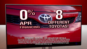 Toyota President Weekend Sales Event TV Spot  - Thumbnail 6
