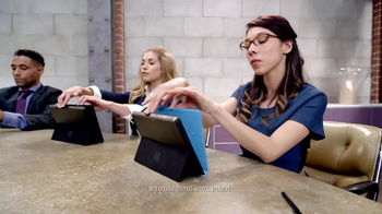 Microsoft Surface Pro TV Spot  'The Vibe' - Thumbnail 2