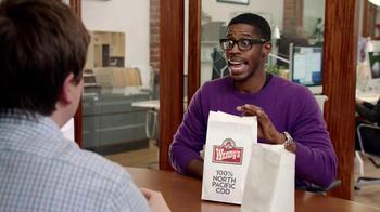 Wendy's Premium Cod Sandwich TV Spot, 'I Bet I Know' - Thumbnail 3
