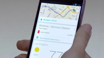 Google Nexus 4 TV Spot, 'Live for Now' - Thumbnail 4