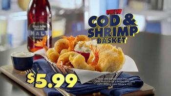 Long John Silver's Cod and Shrimp Basket TV Spot, 'Not in a Bun' - Thumbnail 7
