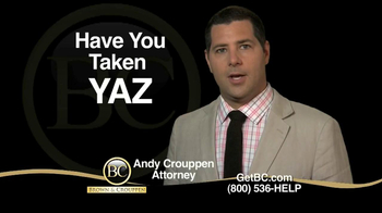 Brown & Crouppen, P.C. TV Spot, 'Yaz'