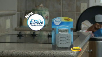 Febreze Stick & Refresh TV Spot, 'Overflowing Garbage' - Thumbnail 1