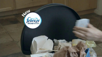 Febreze Stick & Refresh TV Spot, 'Overflowing Garbage' - Thumbnail 2