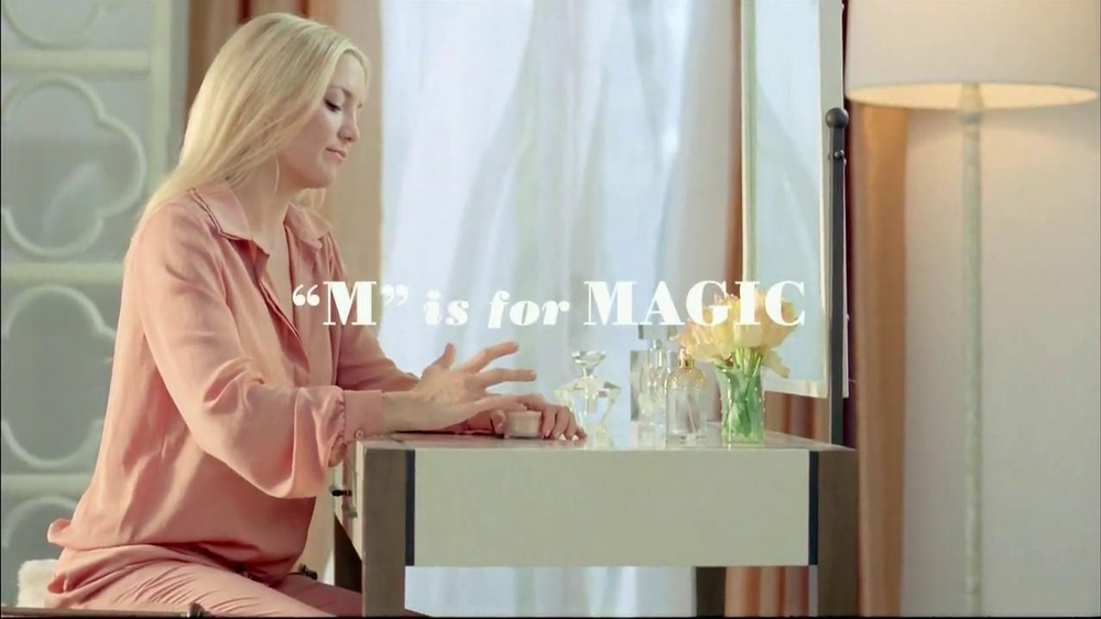 Almay Smart Shade Makeup TV Commercial, 'M is for Magic' Featuring Kate Hudson