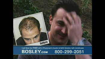 Bosley TV Spot 'Who Looks Better?' - Thumbnail 4