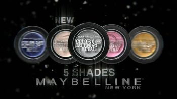 Maybelline New York Color Tattoo 24-Hour Metal Eye Shadow TV Spot - Thumbnail 9