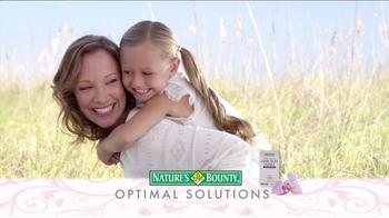 Nature's Bounty TV Spot, 'Optimal Solutions' - Thumbnail 1