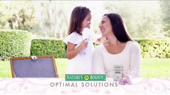 Nature's Bounty TV Spot, 'Optimal Solutions' - Thumbnail 3
