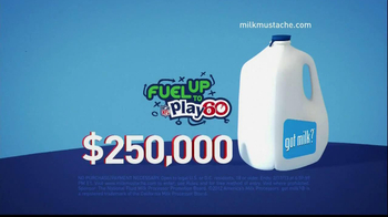 Milk Processor Education Program TV Spot, 'Fuel Up to Play 60 Sweepstakes'