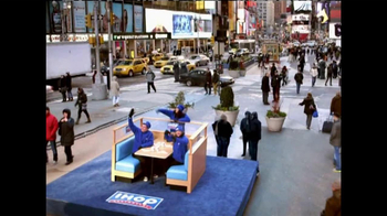 IHOP Griddle Melts TV Spot, 'Times Square' - 2665 commercial airings