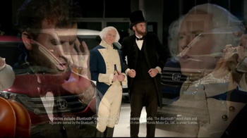 Honda Presidents Day Sales Event TV Spot, 'R&B Presidents'