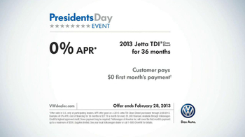 Volkswagen Presidents Day Event TV Spot, 'Ugly Laugh'  - Thumbnail 10