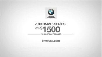 2013 BMW 5 Series TV Spot, 'What you Love' - Thumbnail 10