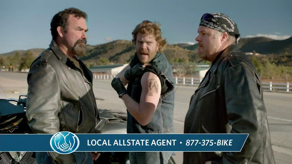 Allstate Motorcycle TV Commercial, 'Centaur Tattoo'