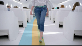 Old Navy TV Spot, 'Airplane Jean Sale' Featuring Julie Hagerty - Thumbnail 5